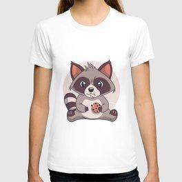 CUTE RACCOON COOKIE T-shirt