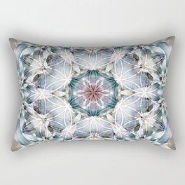 Flower of Life Mandalas 1 Rectangular Pillow
