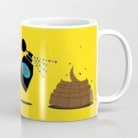 3d Mugs featuring 3D by Viktor Hertz