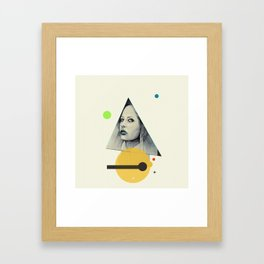 Isis - The keeper of all secrets Framed Art Print