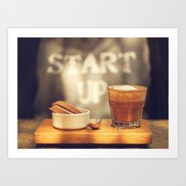 Start up Art Print