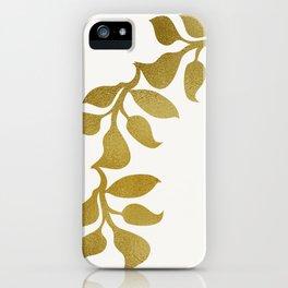 Greek Leaf Laurel Fashion Headband iPhone Case