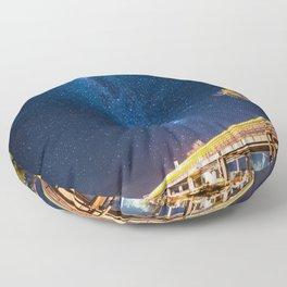 Milky Way Bridge Floor Pillow