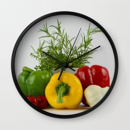Fresh and tasty Wall Clock