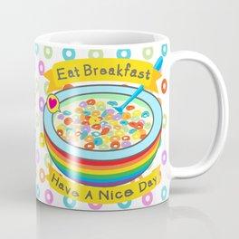 Eat Breakfast! Coffee Mug