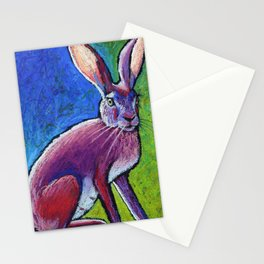 Red Hot Jackrabbit Mama Stationery Cards