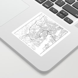 Minimal City Maps - Map Of Providence, Rhode Island, United States Sticker