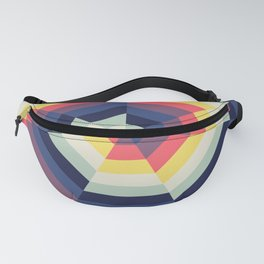 Heptagon Quilt 2 Fanny Pack