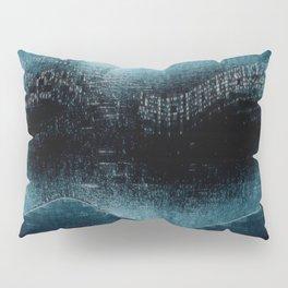 Turquoise Aurora Borealis (No.4 Textile Series) Pillow Sham