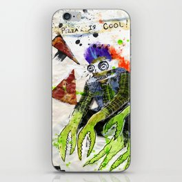 Pizza is Cool iPhone Skin