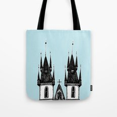 Tyn Church - Prague Tote Bag