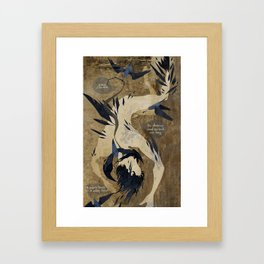 The Rime Of The Ancient Mariner Framed Art Print