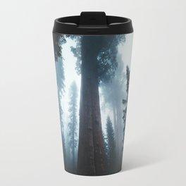 General Sherman in the Mist Travel Mug