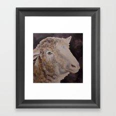 Zoe's Sheep Framed Art Print