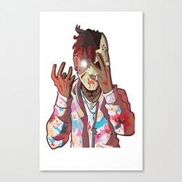 Ski Mask Slump God Canvas Print