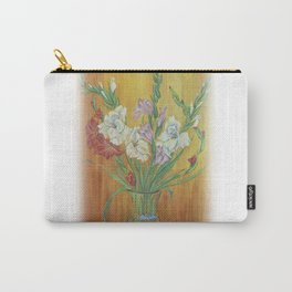 Gladioli in Color Carry-All Pouch