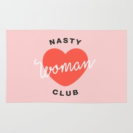 Nasty Woman Club Rug