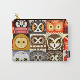 North American Owls Carry-All Pouch