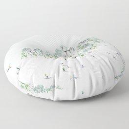 SKI Floor Pillow