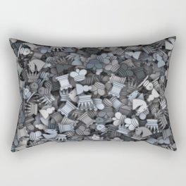 Chess camouflage Rectangular Pillow