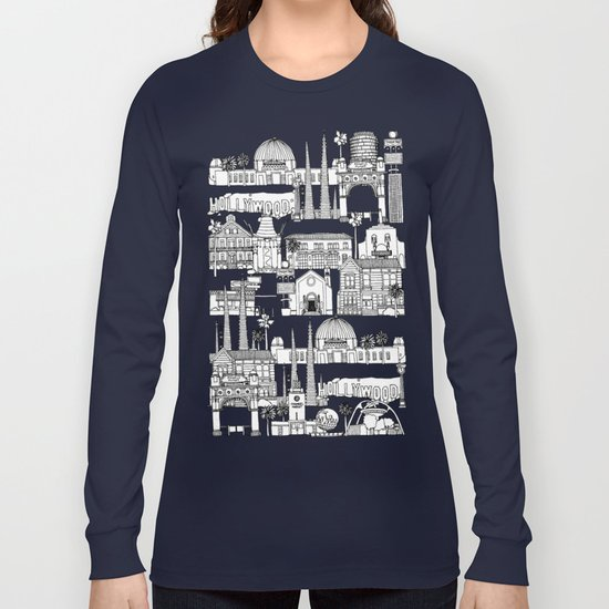 Los Angeles blue Long Sleeve T-shirt
