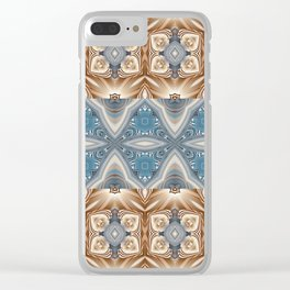 Some Other Mandala 405 Spin-off 4 Clear iPhone Case