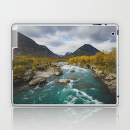 Vistasjokka - Arctic Sweden Laptop & iPad Skin