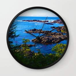 Wild Pacific Trail, Ucluelet BC Wall Clock