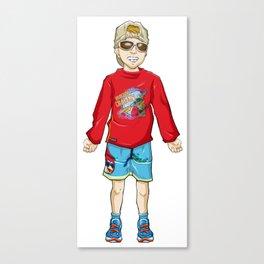 Grumpy Granny - Lambelet Canvas Print