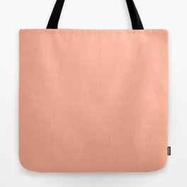 Simply Sweet Peach Coral Tote Bag