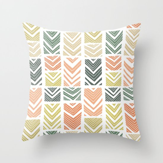Sugar Wave Throw Pillow