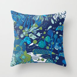 WATER YOU TALKING ABOUT? Throw Pillow