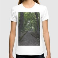 italian T-shirts featuring Italian forest by F130284