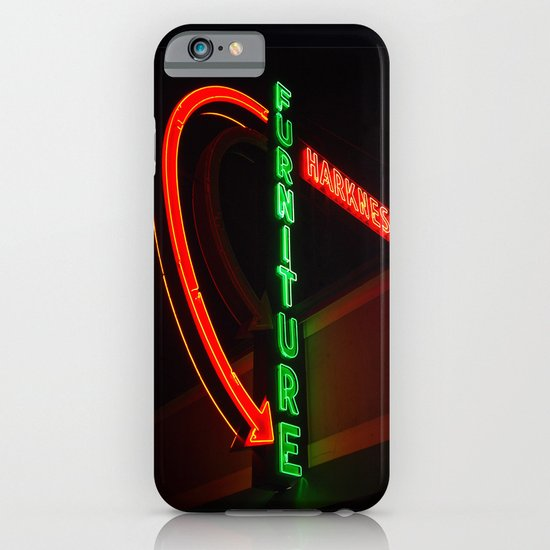 Googie furniture sign iPhone & iPod Case