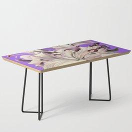 """""""Purple Lilies"""" Coffee Table"""
