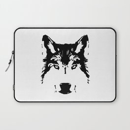 Wolf head Laptop Sleeve