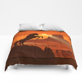 Freedom for the black stallion Comforters