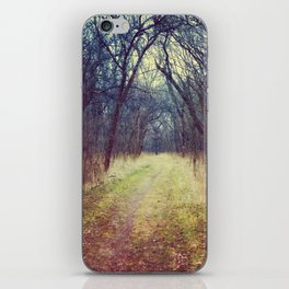 The Woods Are Lovely, Dark and Deep...  iPhone Skin