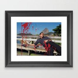 Locals Only - Rio de Janeiro Framed Art Print