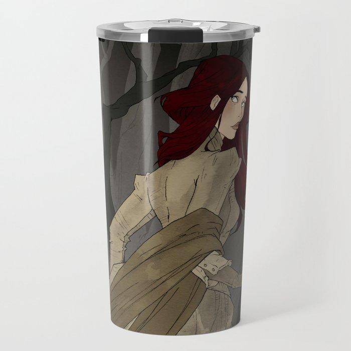 The Black Wood Travel Mug