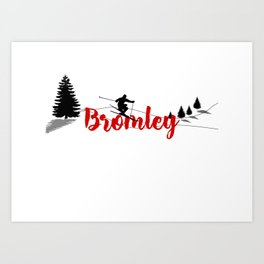 Ski at Bromley Art Print