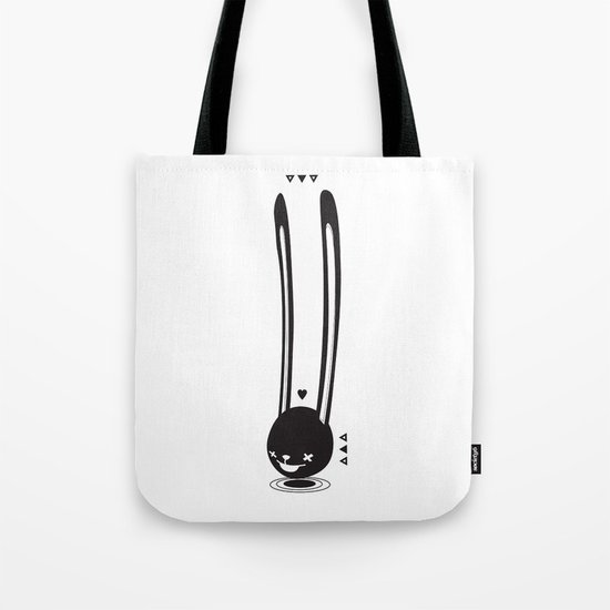 I CAN HEAR YOU ! - LONG EAR BUNNY  Tote Bag