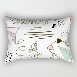 Kites & Clouds Rectangular Pillow