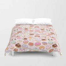Mmm... Donuts! Duvet Cover
