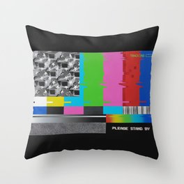 CAPTIVE AMERICA Throw Pillow