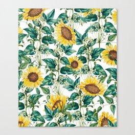 Sunflower Valley #society6 #decor #buyart #83oranges Canvas Print