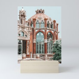 Barcelona Architecture Print, Sant Pau Hospital, Modernism Architecture Print, Urban Photography Mini Art Print