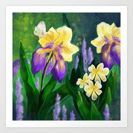 Garden Beauty Art Print