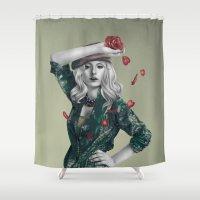 revolution Shower Curtains featuring Revolution by Shusei Mochizuki