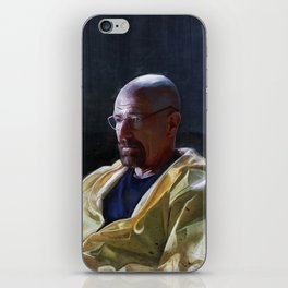 Walter White and Jesse Having A Beer After A Long Day's Work - Breaking Bad iPhone Skin
